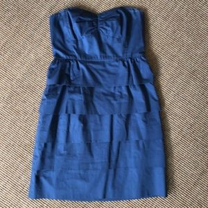 JCrew Strapless dress